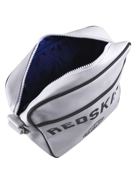 Sac Bandoulière Redskins Blanc airline RD15002 vue secondaire 6