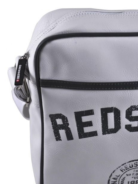 Sac Bandoulière Redskins Blanc airline RD15002 vue secondaire 1