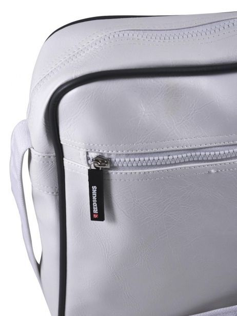 Sac Bandoulière Redskins Blanc airline RD15002 vue secondaire 2