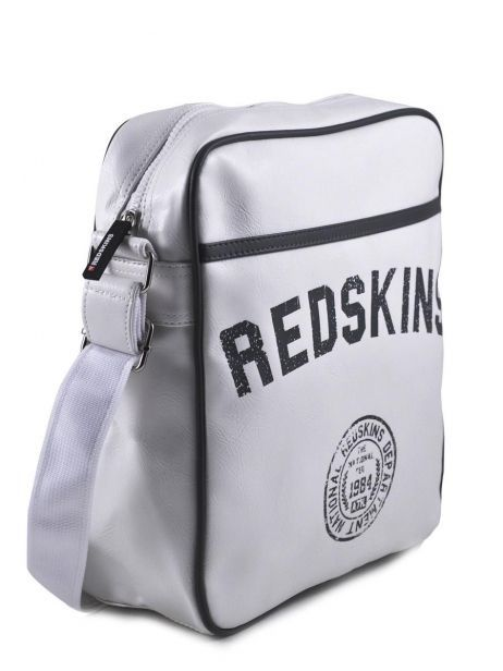 Sac Bandoulière Redskins Blanc airline RD15002 vue secondaire 4