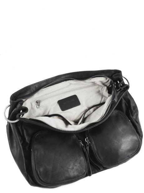 Crossbody Bag Lola Leather Nat et nin Black vintage LOLA other view 5
