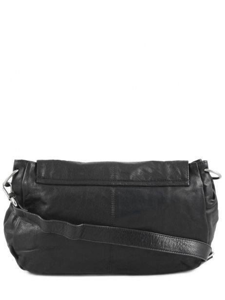 Crossbody Bag Lola Leather Nat et nin Black vintage LOLA other view 4