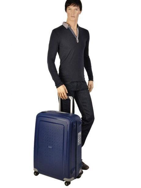 Valise Rigide S'cure Samsonite Bleu s'cure 10U001 vue secondaire 5