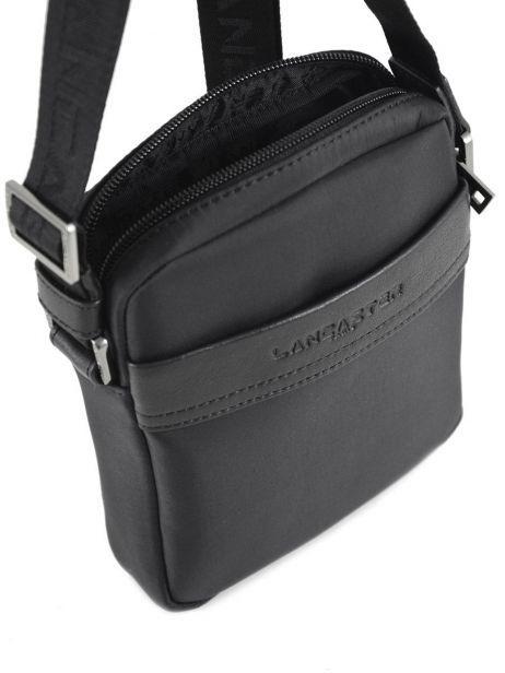 Crossbody Bag Lancaster Black basic sport men 304-01 other view 5