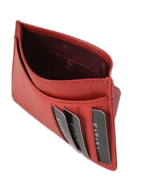 Wallet Leather Katana Red marina 753001 other view 3