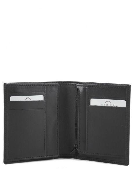 Wallet Leather Etrier Black dakar 200143 other view 3