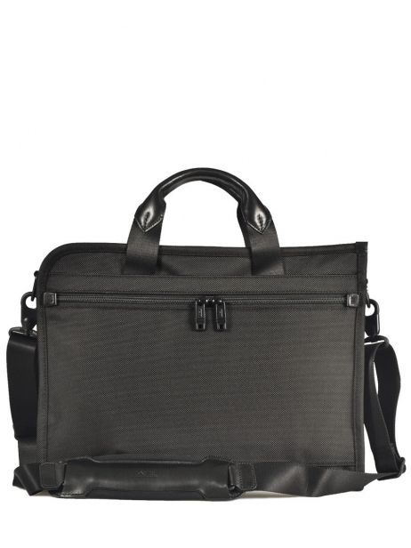 Briefcase 1 Compartment Tumi Black alpha 2 business DH26110 other view 5