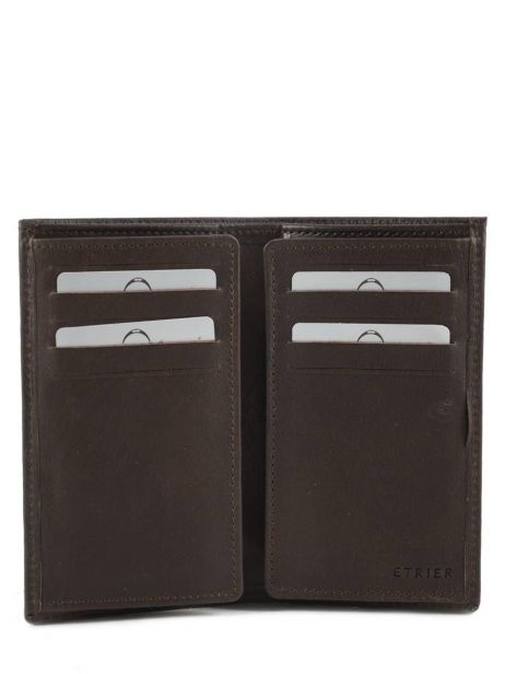 Card Holder Leather Etrier Brown dakar 200006 other view 3