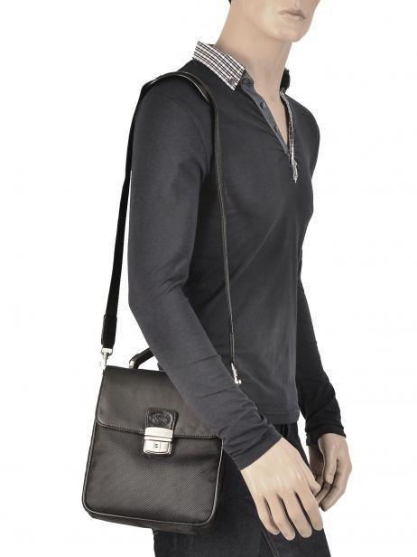 Messenger Bag Francinel Black 8078 other view 2