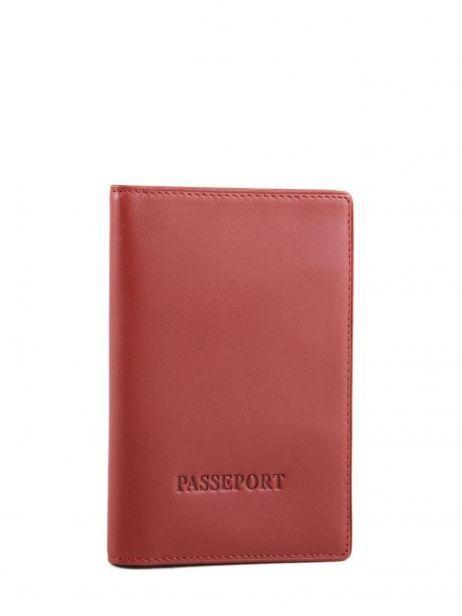 Wallet Leather Katana Red daisy 553056