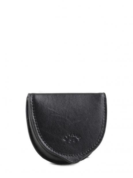 Purse Leather Katana Black marina 753034