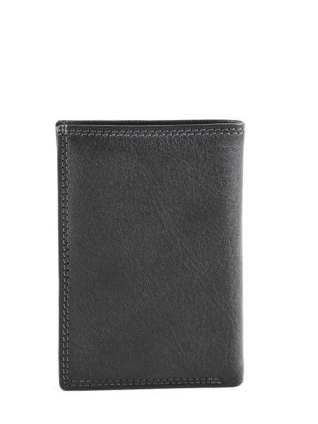 Card Holder Leather Katana Black marina 753038 other view 2