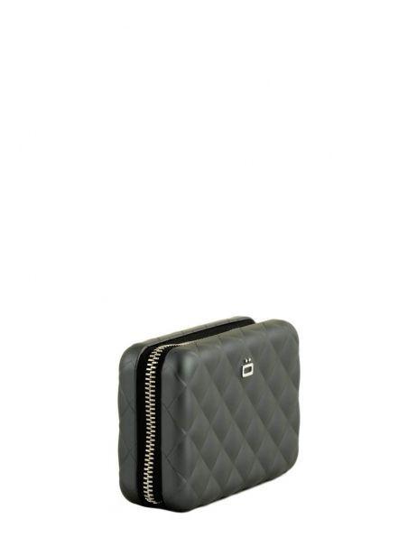 porte cartes ogon quilted zipper platinium en vente au meilleur prix. Black Bedroom Furniture Sets. Home Design Ideas