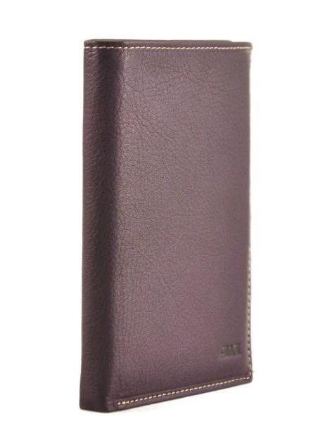 Portefeuille Cuir Petit prix cuir Violet elegance SA901 vue secondaire 1