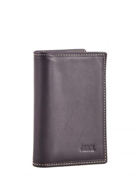 Card Holder Leather Petit prix cuir Violet elegance SA907