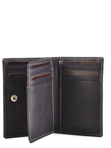 Card Holder Leather Petit prix cuir Violet elegance SA907 other view 3
