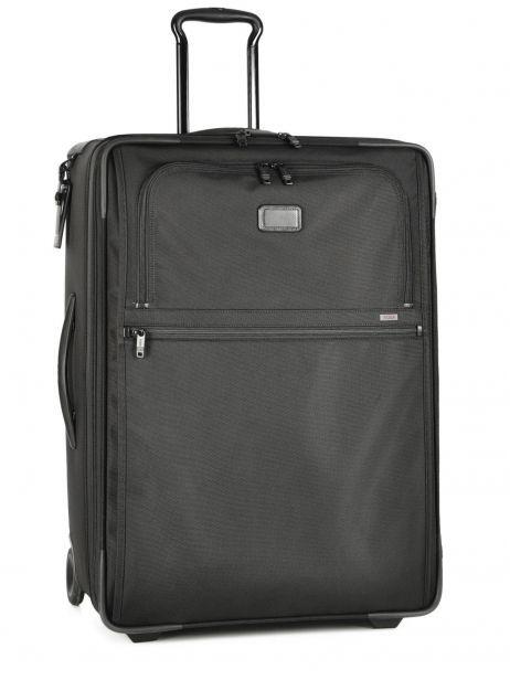 Softside Luggage Alpha 2 Travel Tumi Black alpha 2 travel DH22027