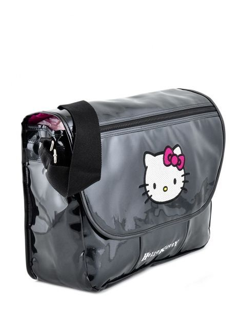 Sac Bandoulière Hello kitty Noir classic dot's HPR25147 vue secondaire 3