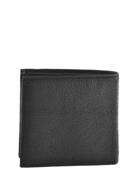 Wallet Leather Levi's Black clairview 222539-4 other view 2