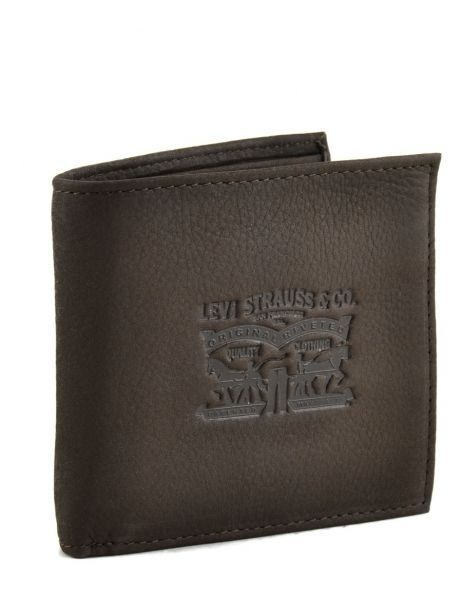 Wallet Leather Levi's Brown clairview 222539-4 other view 1
