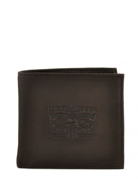 Wallet Leather Levi's Brown clairview 222539-4