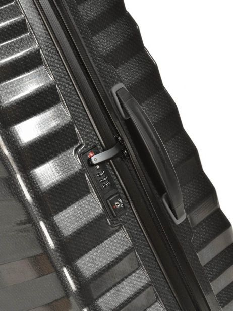 Hardside Luggage Lite-shock Samsonite Black lite-shock 98V003 other view 1