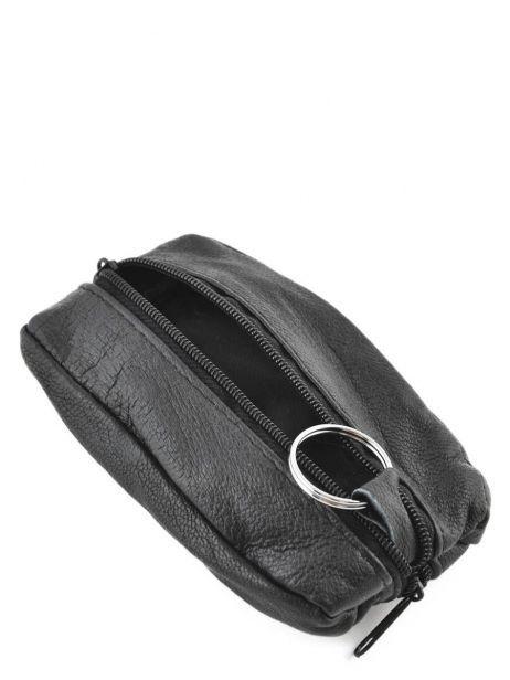 Porte-monnaie Cuir Petit prix cuir Noir basic 090 vue secondaire 3