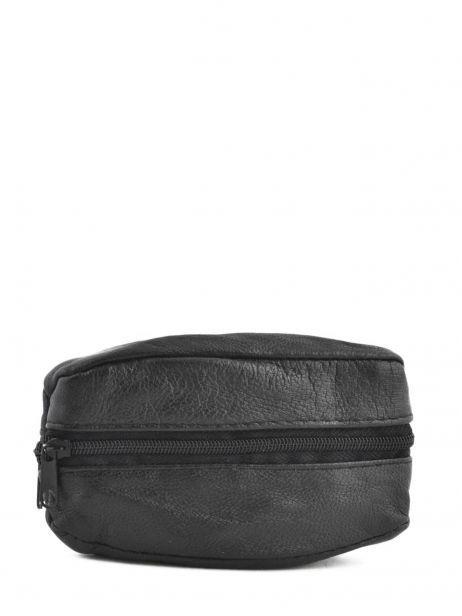 Porte-monnaie Cuir Petit prix cuir Noir basic 090