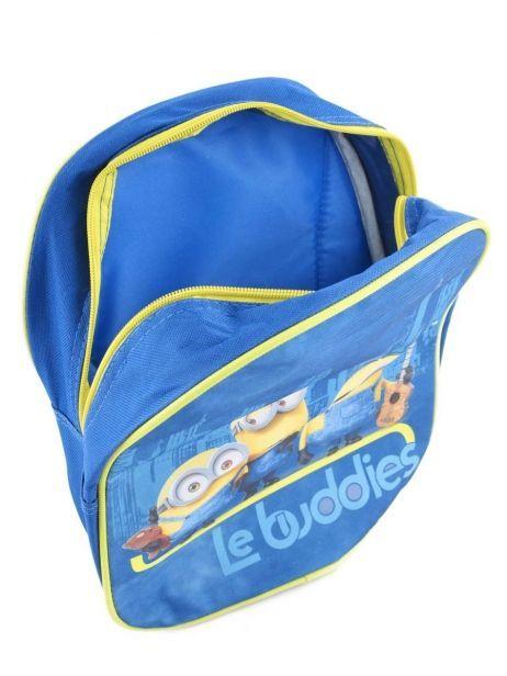 Sac à Dos 1 Compartiment Minions Bleu le buddies 99247ASF vue secondaire 5
