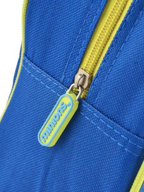 Sac à Dos 1 Compartiment Minions Bleu le buddies 99247ASF vue secondaire 1