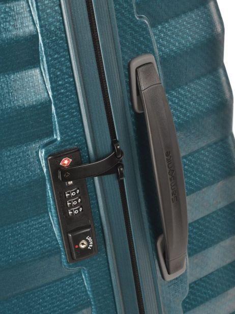 Valise Rigide Lite-shock Samsonite Bleu lite-shock 98V004 vue secondaire 1