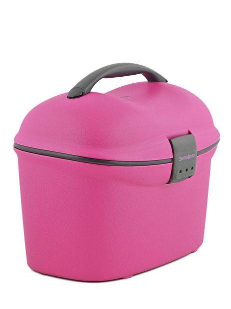 Beauty Case Rigide Samsonite Rose cabin collection V85002 vue secondaire 3
