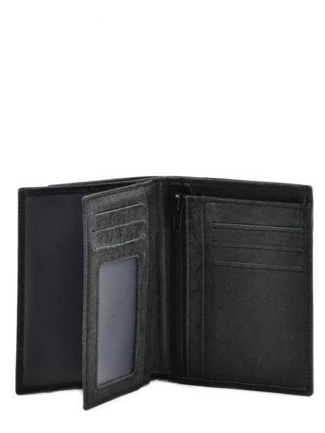 Portefeuille Cuir Arthur et aston Noir pierre 1438-800 vue secondaire 3