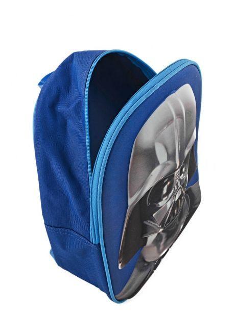 Sac à Dos Mini 1 Compartiment Star wars Bleu 3d 570-7127 vue secondaire 4