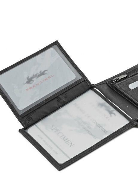 Portefeuille Cuir Francinel Noir bruges 67906 vue secondaire 4