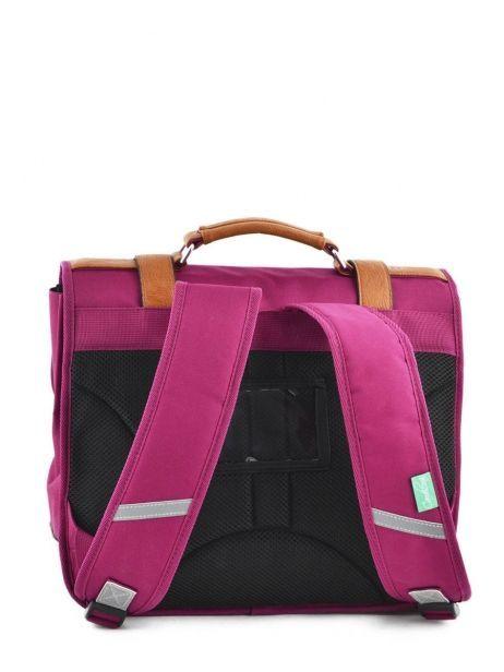 Satchel 2 Compartments Cameleon Pink vintage VINCA35 other view 6