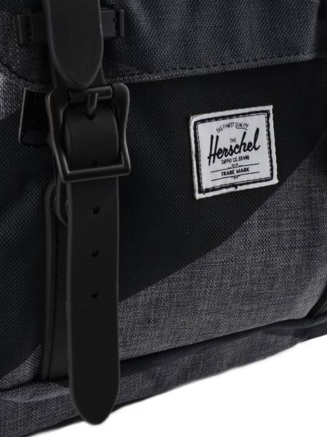 Backpack 1 Compartment + 13'' Pc Herschel Black classics 10020PBG other view 1