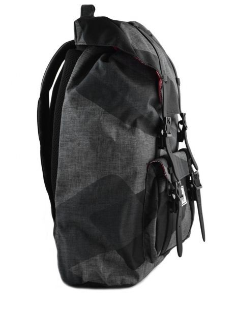Backpack 1 Compartment + 13'' Pc Herschel Black classics 10020PBG other view 3
