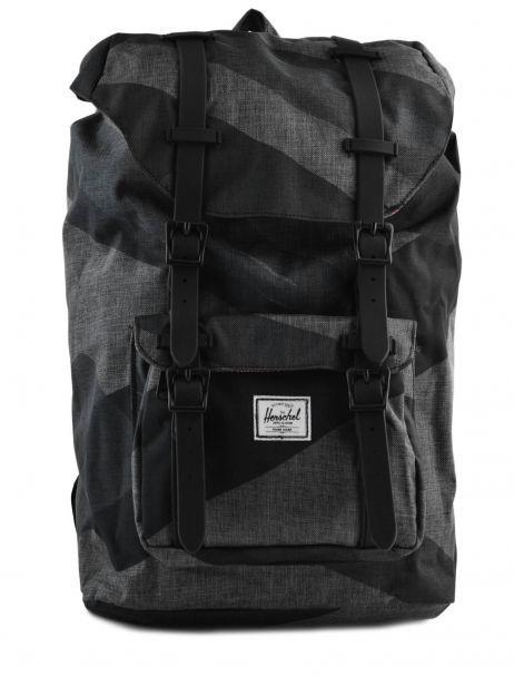 Backpack 1 Compartment + 13'' Pc Herschel Black classics 10020PBG