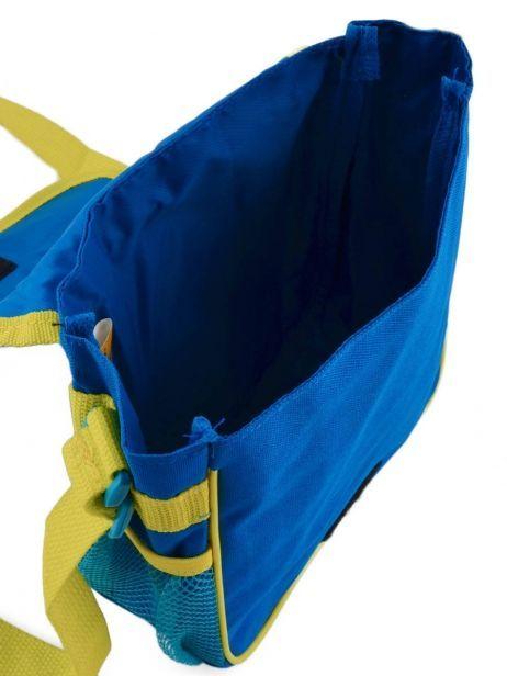 Sac Bandoulière Minions Bleu happy 16405 vue secondaire 5