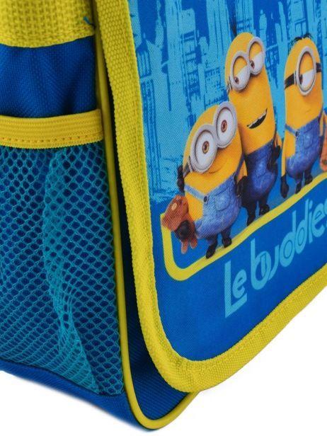 Sac Bandoulière Minions Bleu happy 16405 vue secondaire 1