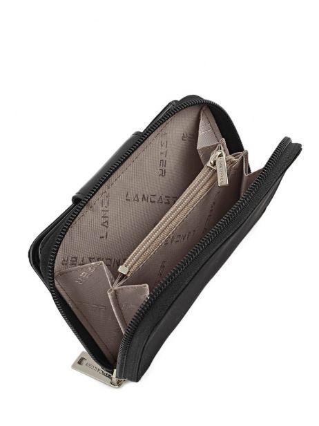 Portefeuille Lancaster Noir basic vernis 104-14 vue secondaire 5