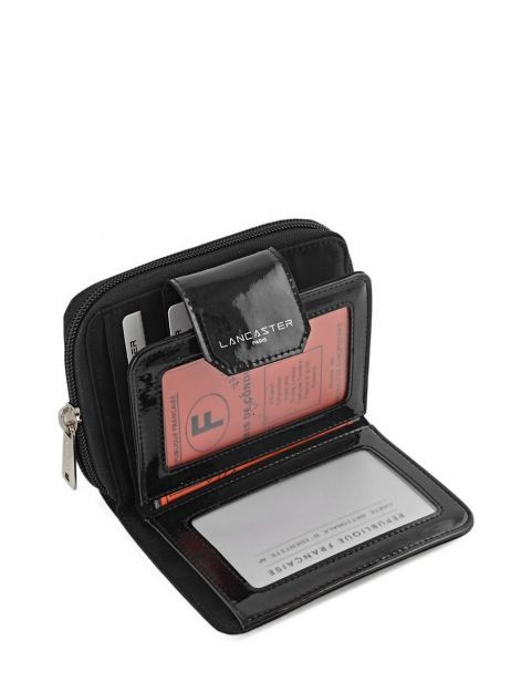 Wallet Lancaster Black basic vernis 104-14 other view 3