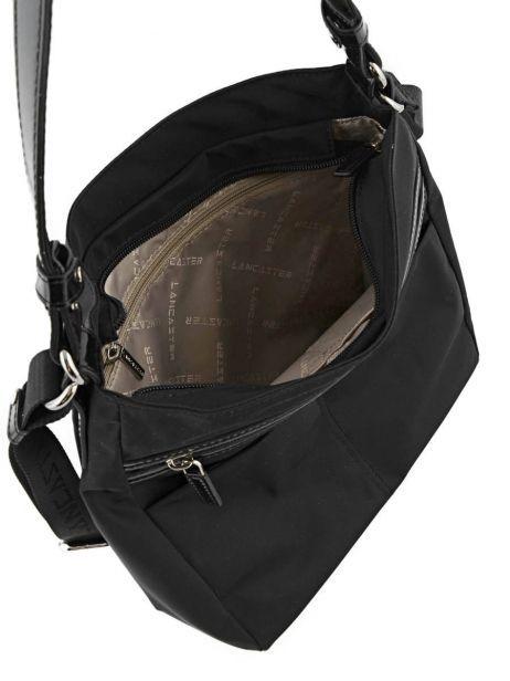 Sac Porté épaule Basic Vernis Lancaster Noir basic vernis 514-60 vue secondaire 6