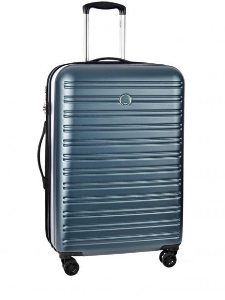 Hardside Luggage Segur Delsey Blue segur 2038820