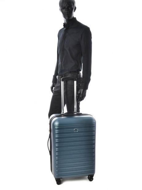 Hardside Luggage Segur Delsey Blue segur 2038820 other view 3