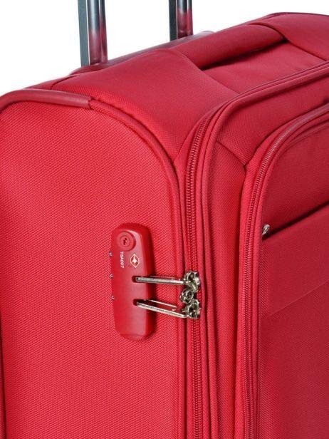 valise cabine delsey indiscrete rouge en vente au meilleur prix. Black Bedroom Furniture Sets. Home Design Ideas