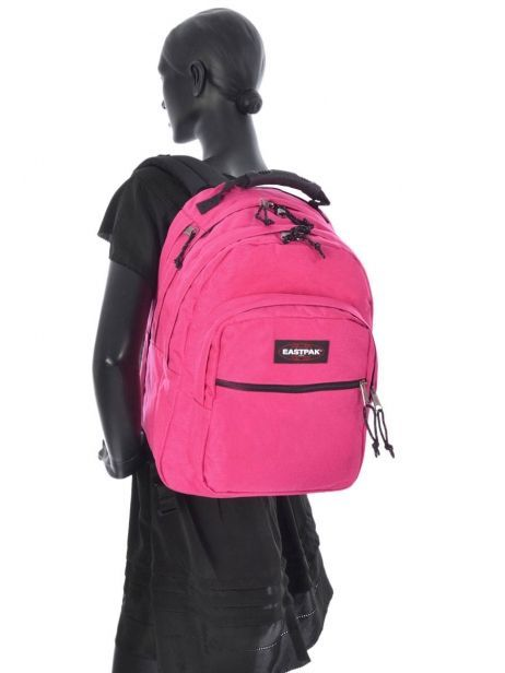 Backpack 2 Compartments + 17'' Pc Eastpak Pink pbg authentic PBGK09B other view 2