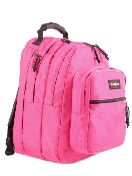 Backpack 2 Compartments + 17'' Pc Eastpak Pink pbg authentic PBGK09B other view 3