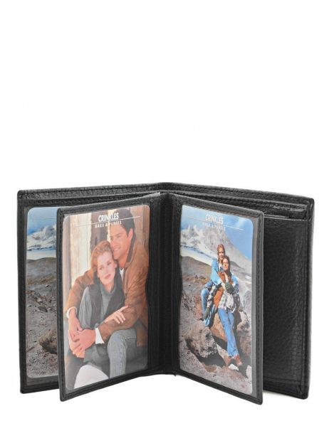 Wallet Leather Crinkles Black 14089 other view 4